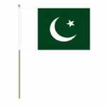 Pakistan Country Hand Flag - Large.